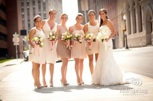 Ashley and Bridesmaids